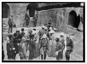 Visite de Guillaume II au Tombeau des Rois en 1898