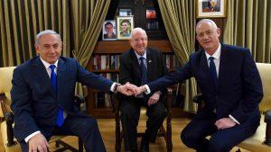 Netanyahu Rivlin Ganz